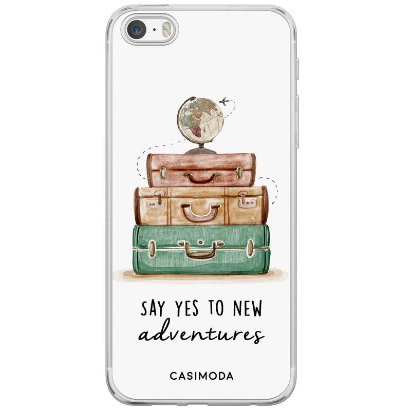 Casimoda iPhone 5/5S/SE siliconen hoesje - Wanderlust