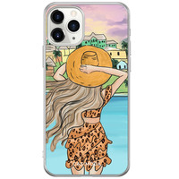 Casimoda iPhone 11 Pro hoesje - Sunset girl