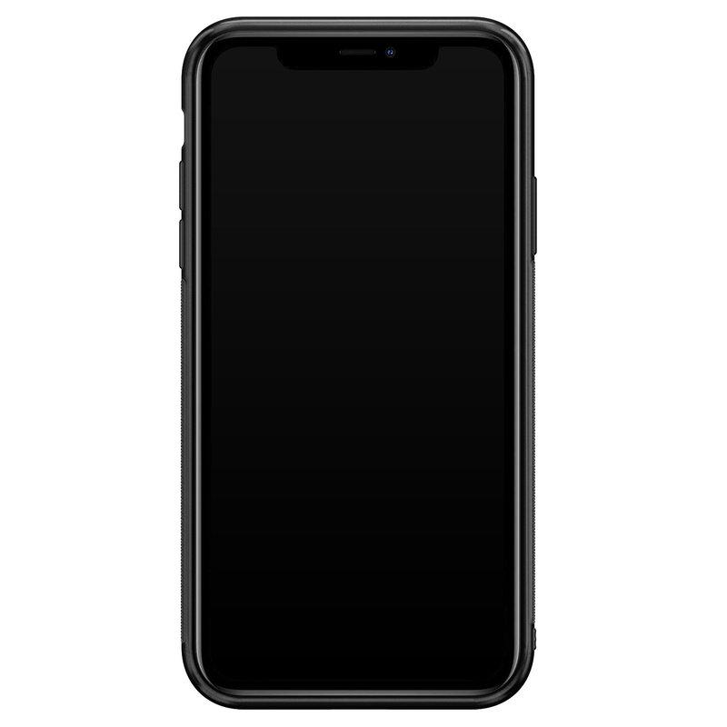 Casimoda iPhone 11 glazen hoesje - Hardcase met foto