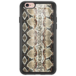Casimoda iPhone 6/6s glazen hardcase - Snake crush