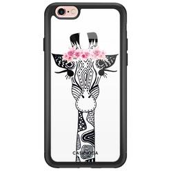 Casimoda iPhone 6/6s glazen hardcase - Giraffe