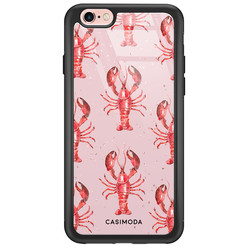 Casimoda iPhone 6/6s glazen hardcase - Lobster all the way