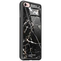 Casimoda iPhone 6/6s glazen hardcase - Marmer zwart