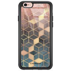 Casimoda iPhone 6/6s glazen hardcase - Cubes art