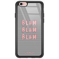 Casimoda iPhone 6/6s glazen hardcase - Blah blah blah