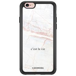 Casimoda iPhone 6/6s glazen hardcase - C'est la vie