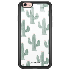 Casimoda iPhone 6/6s glazen hardcase - Cactus print