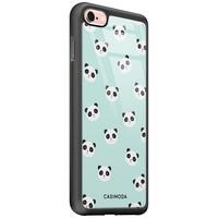 Casimoda iPhone 6/6s glazen hardcase - Panda print