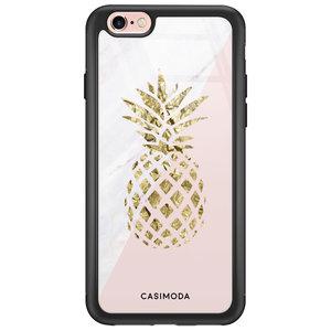 iPhone 6/6s glazen hardcase - Ananas