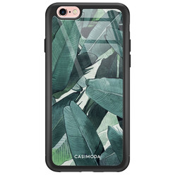 Casimoda iPhone 6/6s glazen hardcase - Jungle