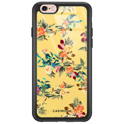 Casimoda iPhone 6/6s glazen hardcase - Florals for days