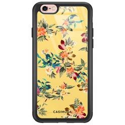 iPhone 6/6s glazen hardcase - Florals for days