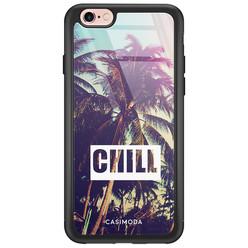 iPhone 6/6s glazen hardcase - Chill