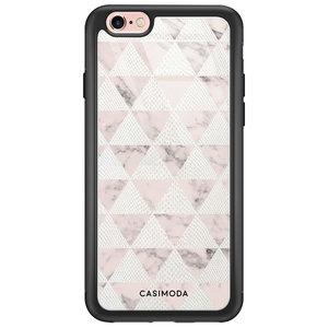 iPhone 6/6s glazen hardcase - Snake triangles