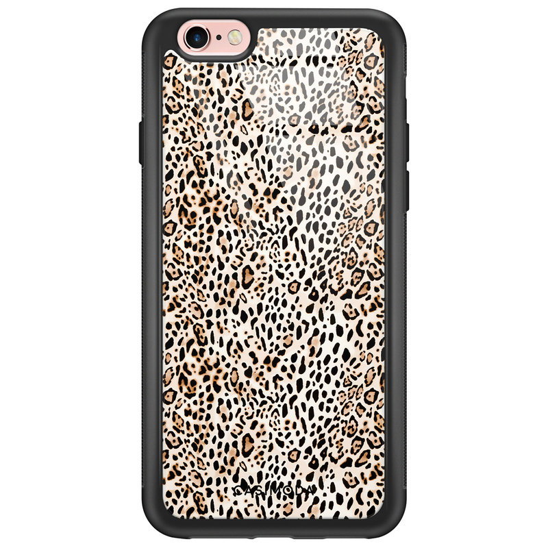 Casimoda iPhone 6/6s glazen hardcase - It's a zoo out there
