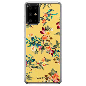 Casimoda Samsung Galaxy S20 Plus siliconen hoesje - Floral days