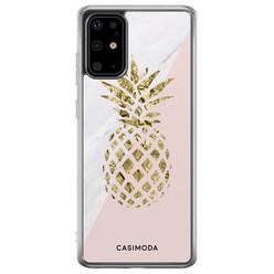 Casimoda Samsung Galaxy S20 Plus siliconen hoesje - Ananas