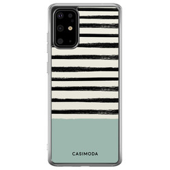 Casimoda Samsung Galaxy S20 Plus siliconen hoesje - Stripes on stripes
