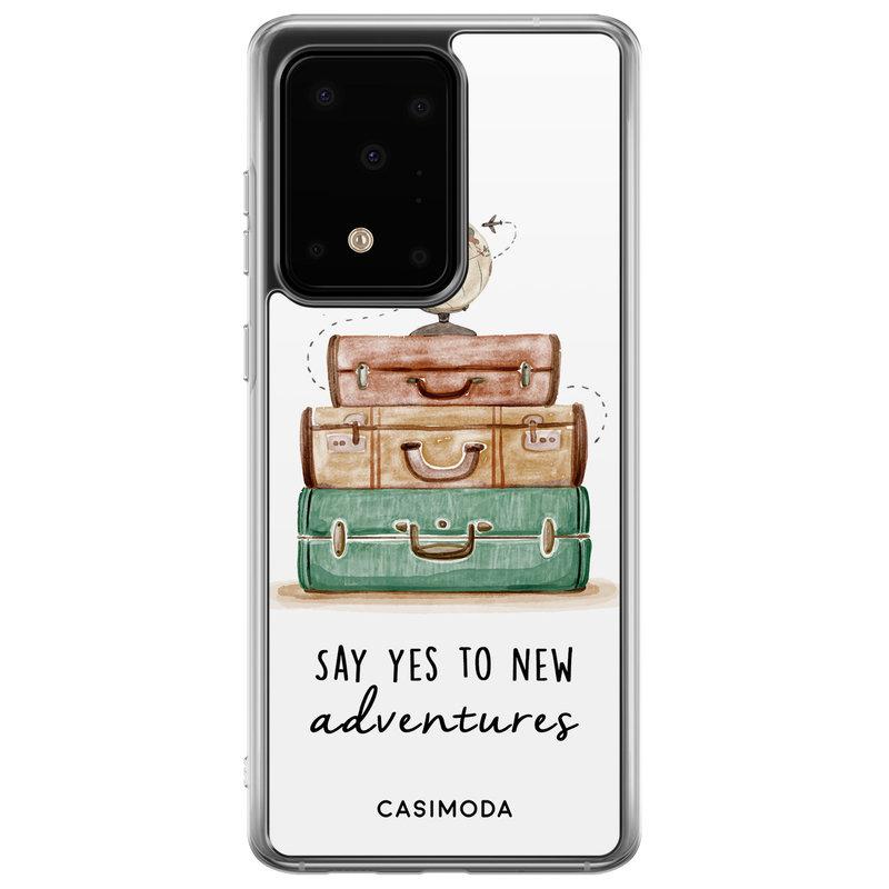 Casimoda Samsung Galaxy S20 Ultra siliconen hoesje - Wanderlust