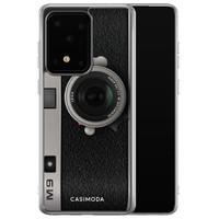 Casimoda Samsung Galaxy S20 Ultra siliconen telefoonhoesje - Camera