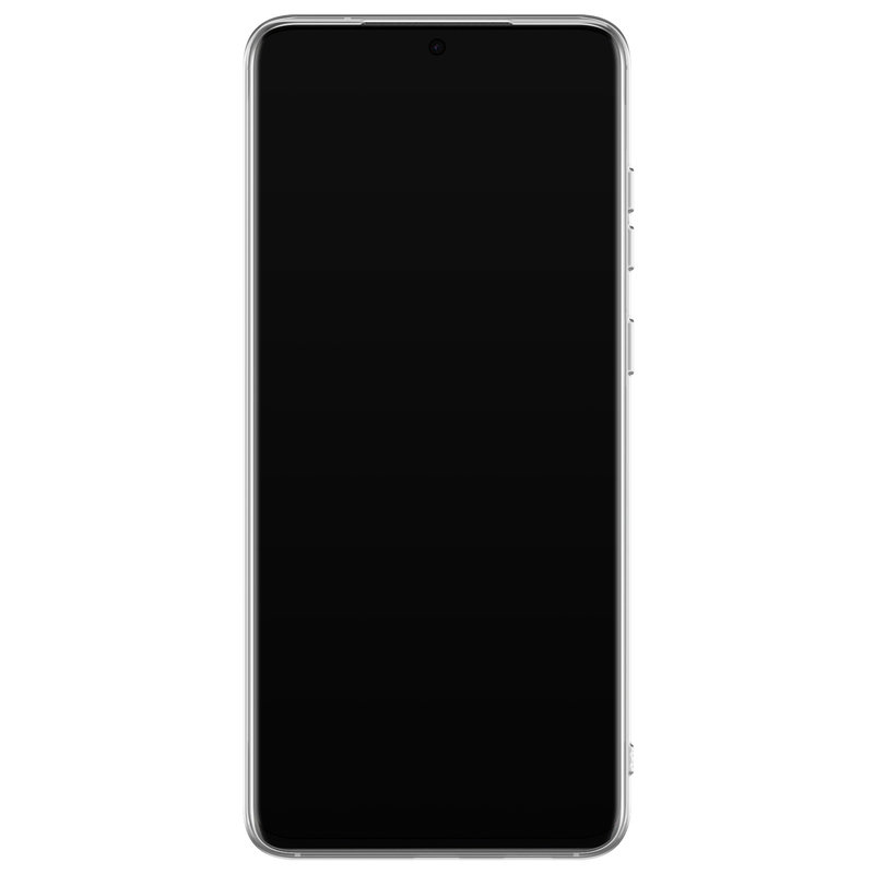 Casimoda Samsung Galaxy S20 Ultra siliconen telefoonhoesje - Luipaard grijs