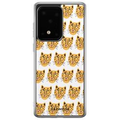 Casimoda Samsung Galaxy S20 Ultra siliconen hoesje - Got my leopard