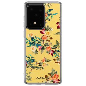 Casimoda Samsung Galaxy S20 Ultra siliconen hoesje - Floral days