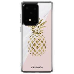Casimoda Samsung Galaxy S20 Ultra siliconen hoesje - Ananas
