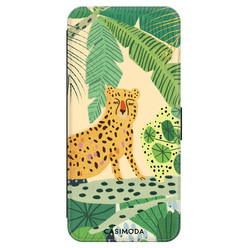 Casimoda Samsung Galaxy A70 flipcase - Luipaard jungle