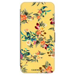 Casimoda Samsung Galaxy A70 flipcase - Florals for days