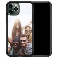 iPhone 11 Pro glazen hoesje - Hardcase met foto