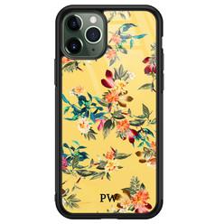 iPhone 11 Pro glazen hoesje ontwerpen - Florals for days