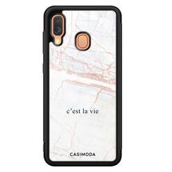 Casimoda Samsung Galaxy A40 hoesje - C'est la vie