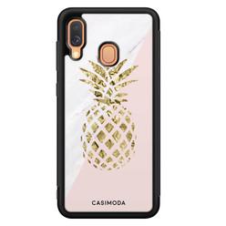 Casimoda Samsung Galaxy A40 hoesje - Ananas