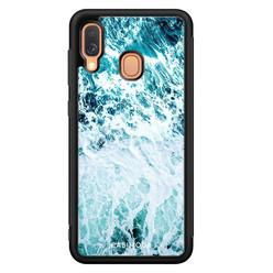 Casimoda Samsung Galaxy A40 hoesje - Oceaan