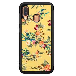 Casimoda Samsung Galaxy A40 hoesje - Florals for days