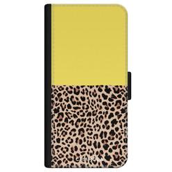 Casimoda iPhone 11 flipcase - Luipaard geel