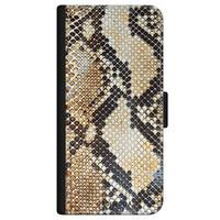 Casimoda iPhone 11 flipcase - Golden snake