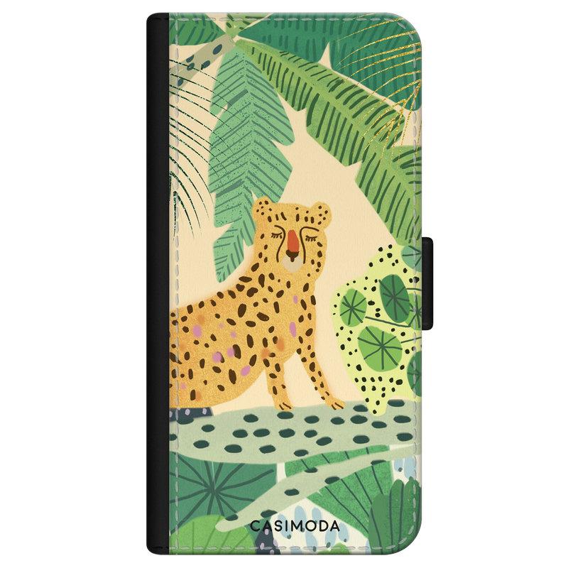 Casimoda iPhone 11 flipcase - Luipaard jungle