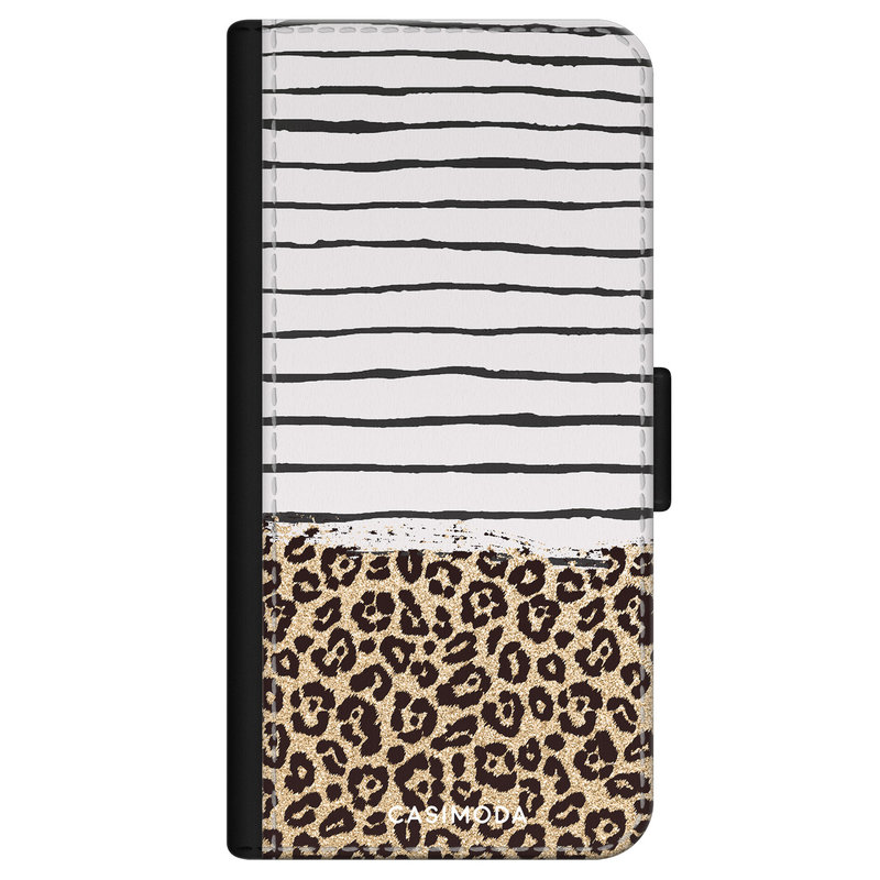 Casimoda iPhone 11 flipcase - Leopard lines