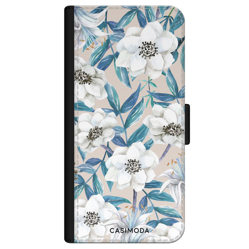 Casimoda iPhone 11 flipcase - Touch of flowers