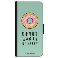 Casimoda iPhone 11 flipcase - Donut worry