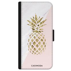 Casimoda iPhone 11 flipcase - Ananas