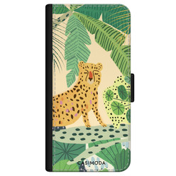 Casimoda iPhone 11 Pro flipcase - Luipaard jungle
