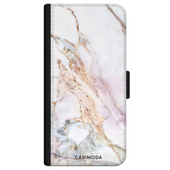 Casimoda iPhone 11 Pro flipcase - Parelmoer marmer