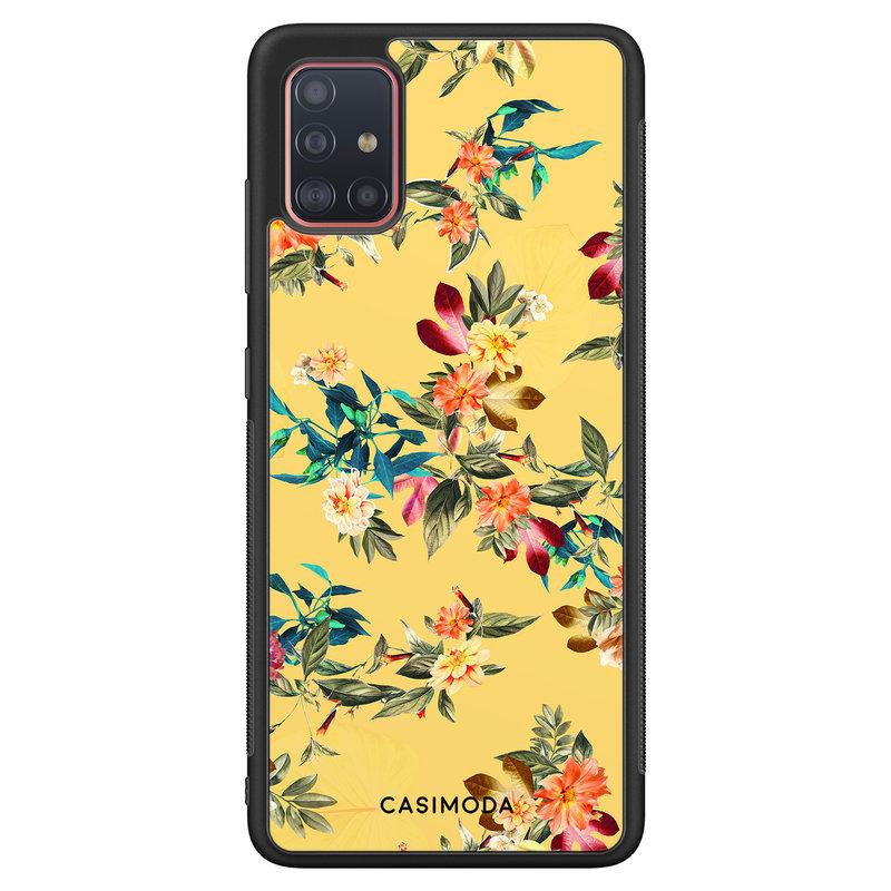 Casimoda Samsung Galaxy A51 hoesje - Florals for days