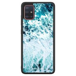 Casimoda Samsung Galaxy A51 hoesje - Oceaan