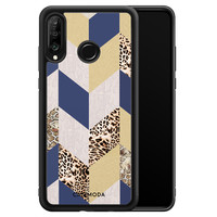 Casimoda Huawei P30 Lite hoesje - Blue leo wild