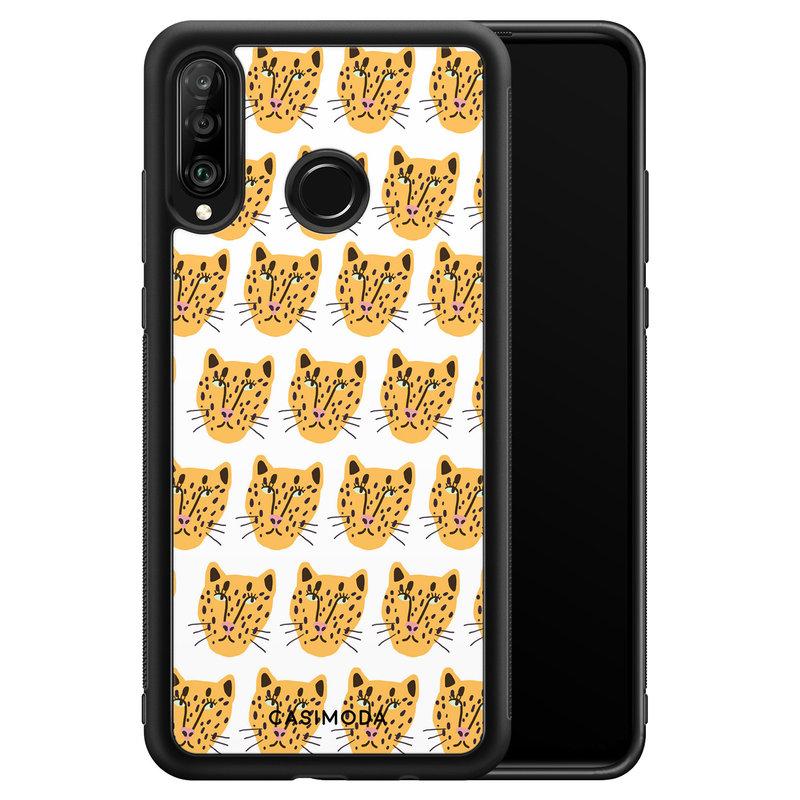 Casimoda Huawei P30 Lite hoesje - Got my leopard