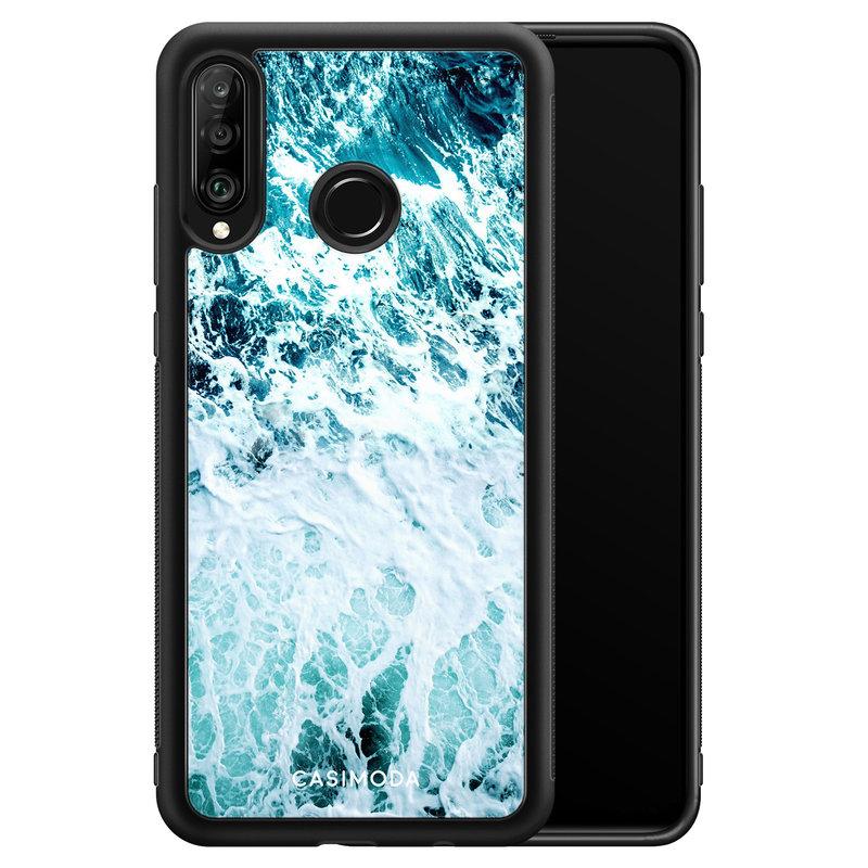 Casimoda Huawei P30 Lite hoesje - Oceaan